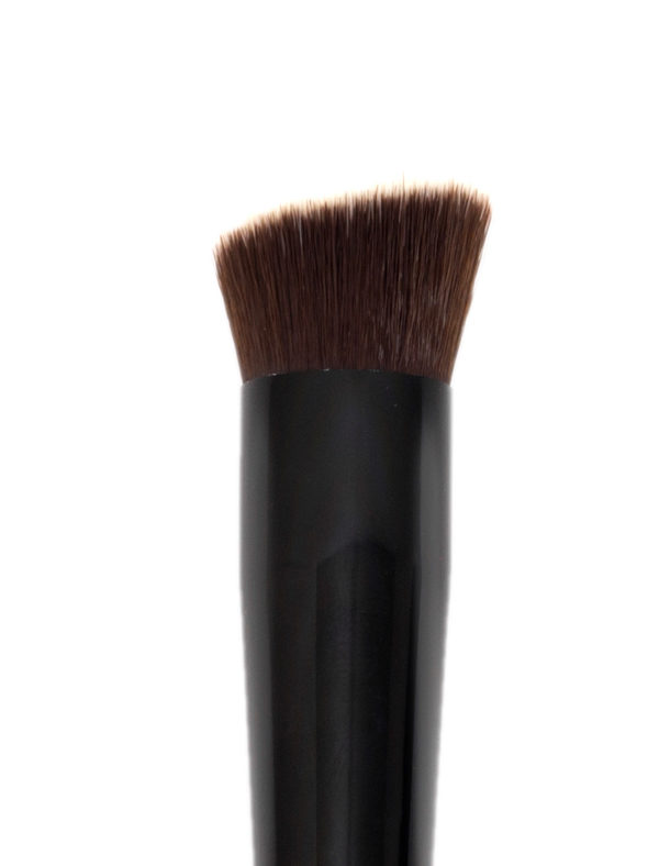 Face Brush - Angled Kabuki Brush - Skin Fact - Handmade double brush