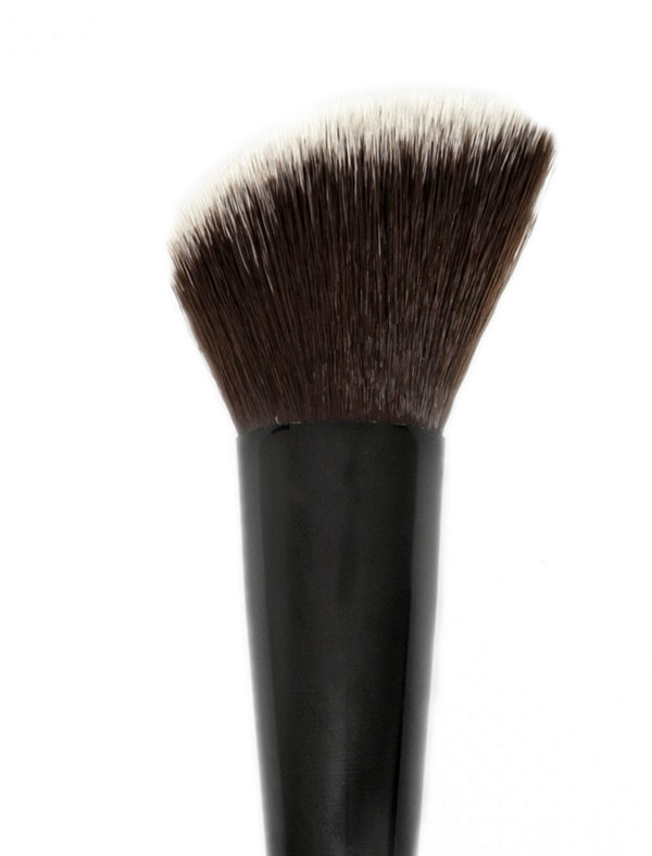 Face Brush - Angled Contour/Blush Brush - Skin Fact - Handmade double brush