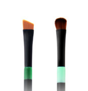 Twin Eye Brush 04 - Skin Fact - Handmade double brush