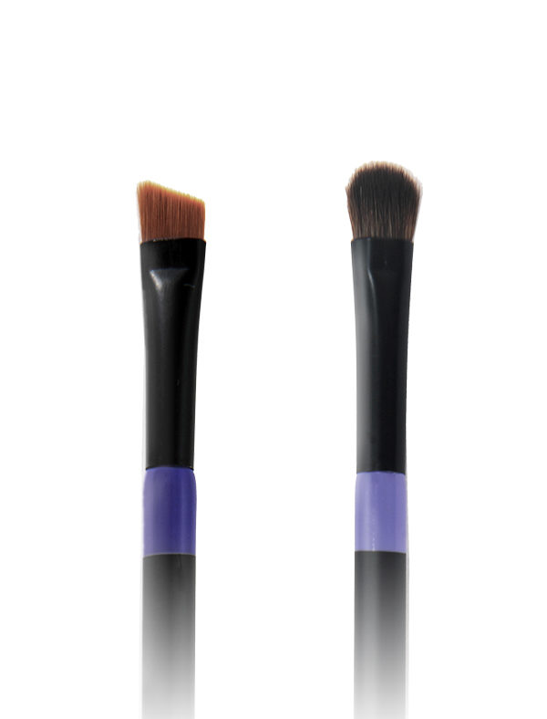 Twin Eye Brush 05 - Skin Fact - Handmade double brush
