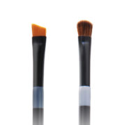 Twin Eye Brush 06 - Skin Fact - Handmade double brush