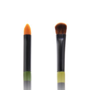 Twin Eye Brush 07 - Skin Fact - Handmade double brush