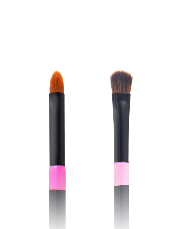 Twin Eye Brush 08 - Skin Fact - Handmade double brush