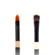 Twin Eye Brush 09 - Skin Fact - Handmade double brush