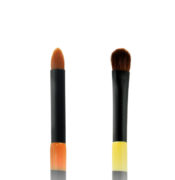 Twin Eye Brush 10 - Skin Fact - Handmade double brush